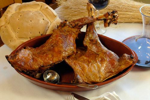 Codero asado - Experiencia Casa Azul de la Ribera