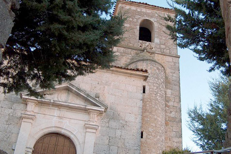 Iglesia Mambrilla de Castrejón - Casa Azul de la Ribera