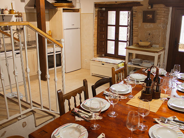 Comedor - Casa Azul de la Ribera