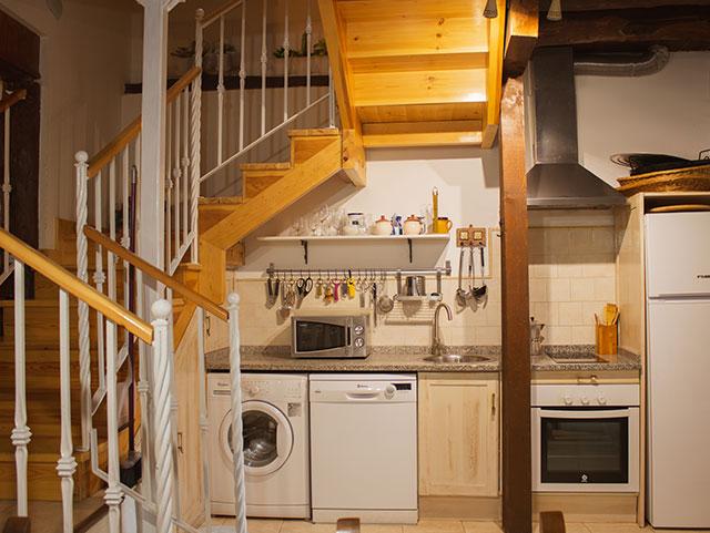 Cocina- Casa Azul de la Ribera